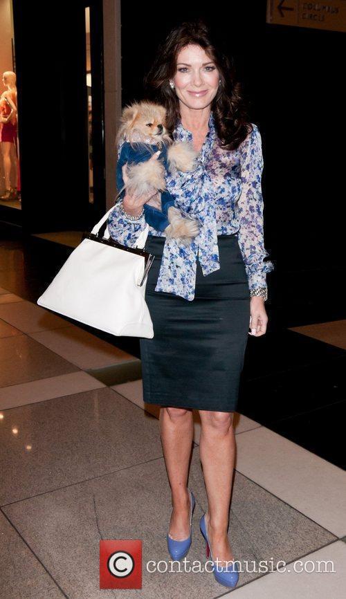 Lisa Vanderpump out shopping at Columbus Circle in...
