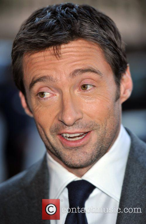 Hugh Jackman hosts a private event, promoting the...