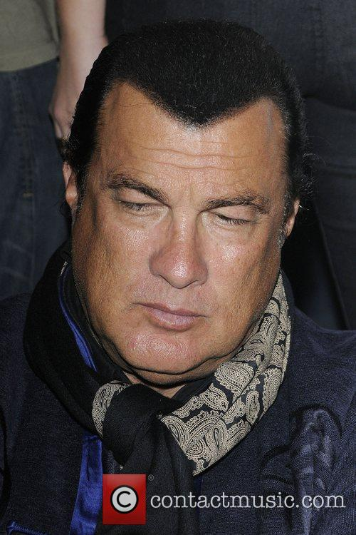 Steven Seagal Storms Off Interview After Being Grilled On Sexual Assault Allegations