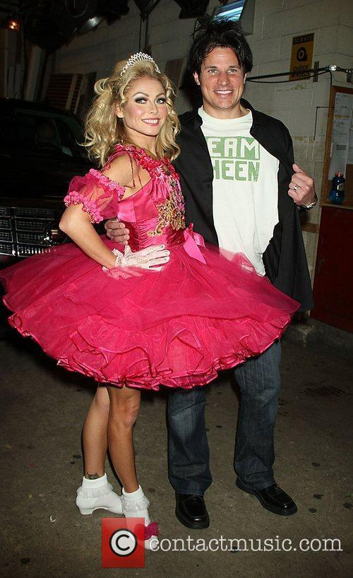 Kelly Ripa and Nick Lachey dress up for...