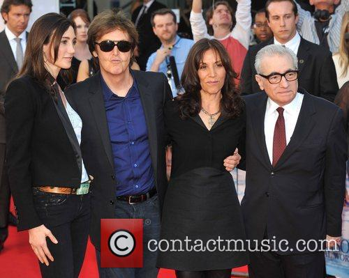 Sir Paul Mccartney, Martin Scorsese, Nancy Sorrell and Olivia Harrison 4