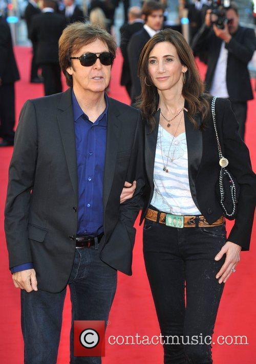Sir Paul McCartney and Nancy Sorrell 9