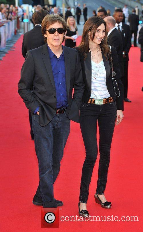 Sir Paul McCartney and Nancy Sorrell 12