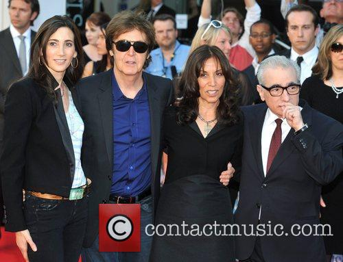 Sir Paul Mccartney, Martin Scorsese and Nancy Sorrell 7