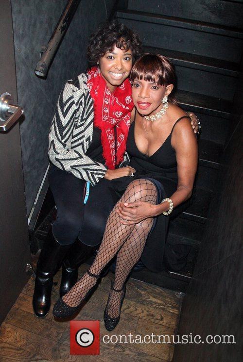 Charli Huggins and Melba Moore Living Legends Foundation...