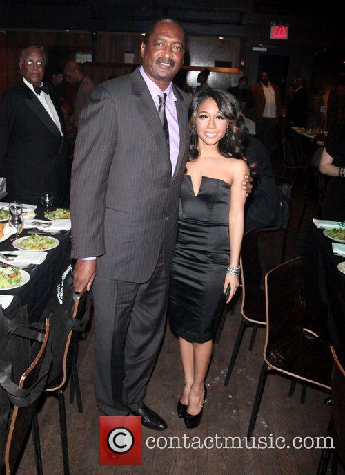 Mathew Knowles, Celebration and Tiffany Evans 1