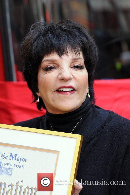 Liza Minnelli  attends Gray Line New York's...