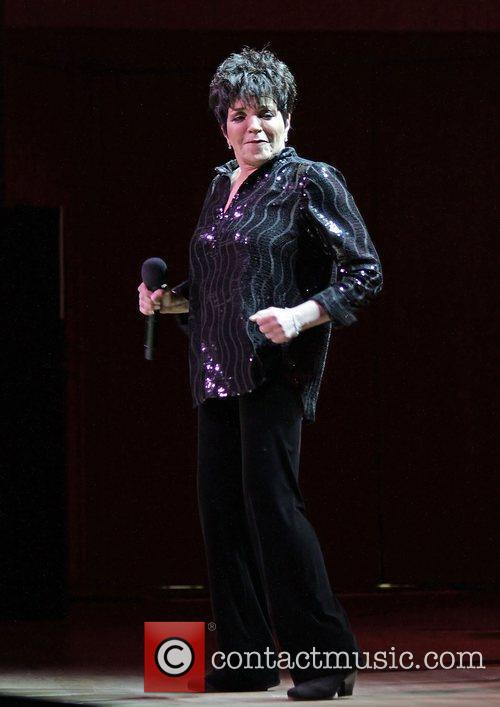 Liza Minnelli performing live on stage at Manchester...