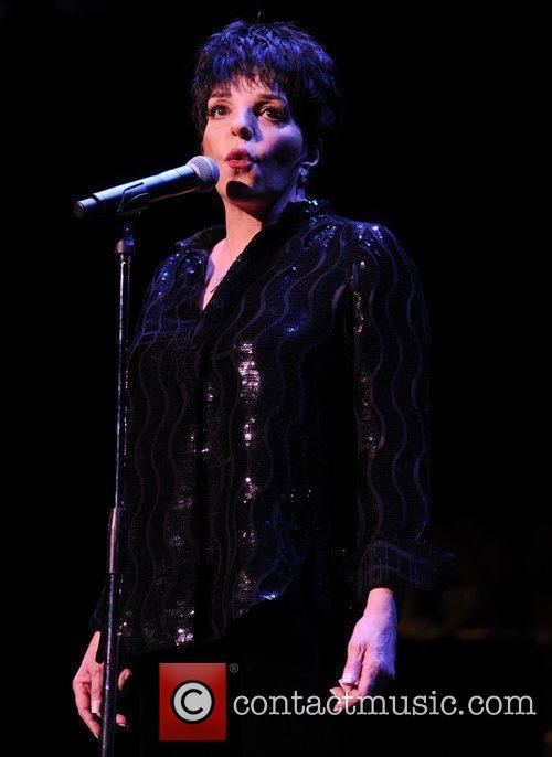 Liza Minnelli  performing at Royal Albert Hall...