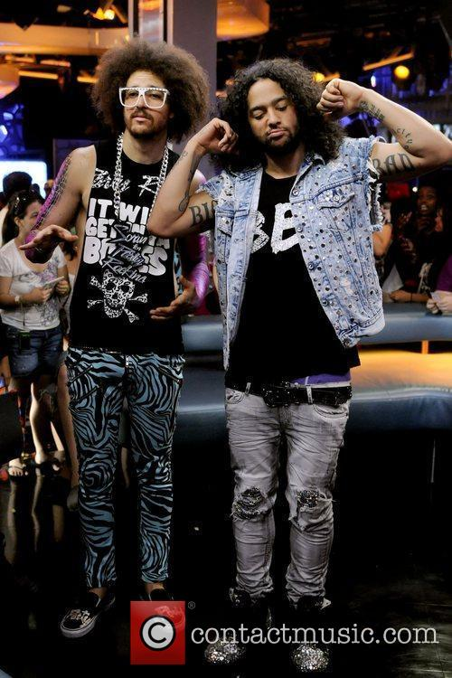 Redfoo and SkyBlu  of LMFAO appear on...