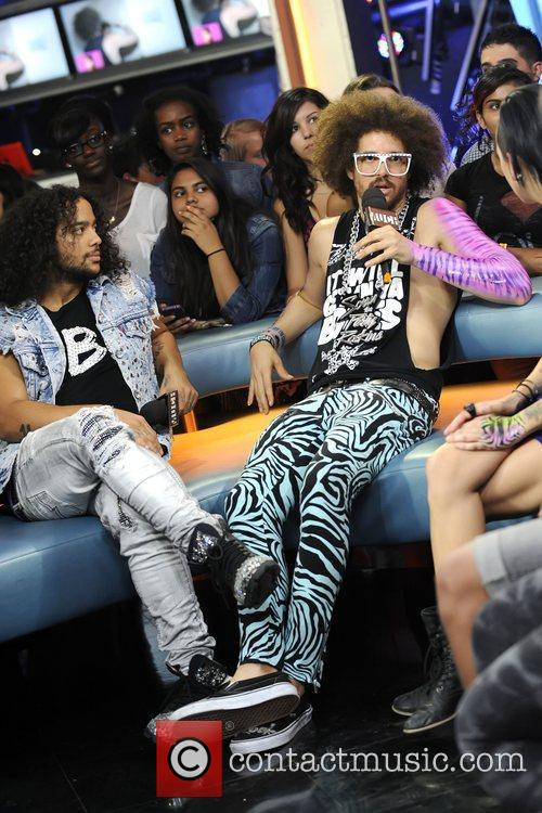 SkyBlu and Redfoo  of LMFAO appears on...