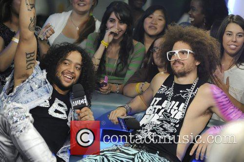 SkyBlu and Redfoo  of LMFAO appear on...