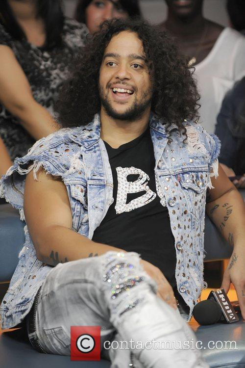 SkyBlu  of LMFAO appears on Much Music's...