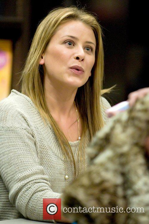 Lo Bosworth reality star signs her new book...