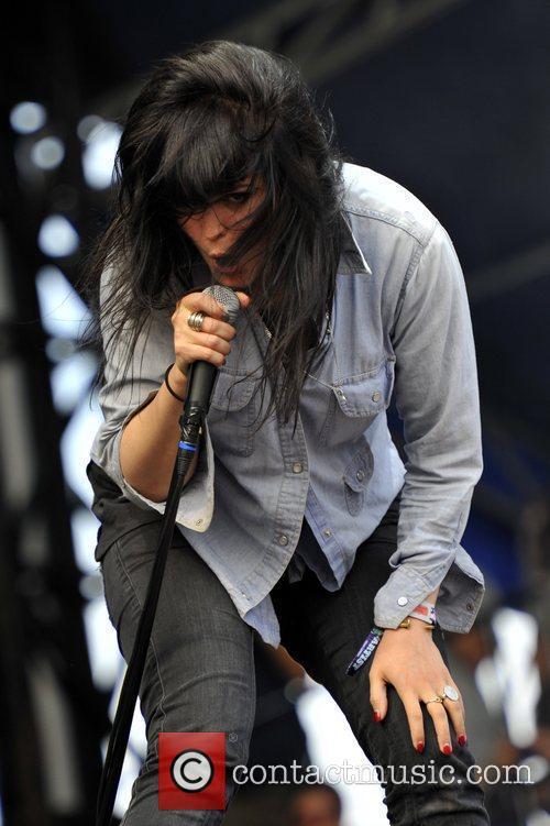 Alison Mosshart of The Kills Lollapalooza Music Festival...