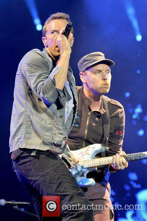 Coldplay Chris Martin Jonny Buckland