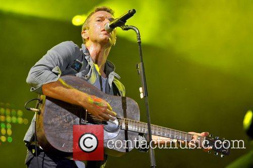 Chris Martin of Coldplay Lollapalooza Music Festival 2011...