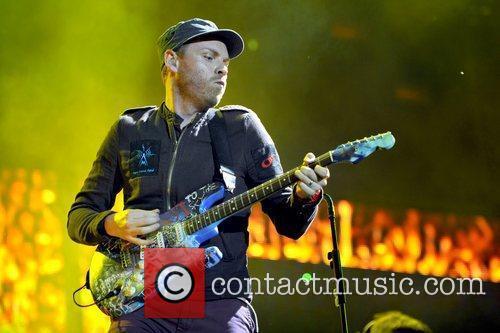 Jonny Buckland of Coldplay Lollapalooza Music Festival 2011...