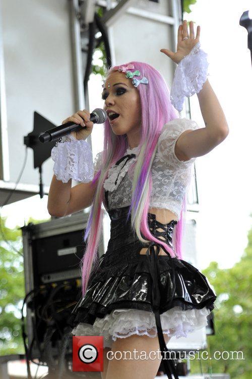 Kerli Lollapalooza Music Festival 2011 - Performances -...