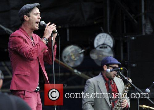 Fitz & The Tantrums on Day Two at...