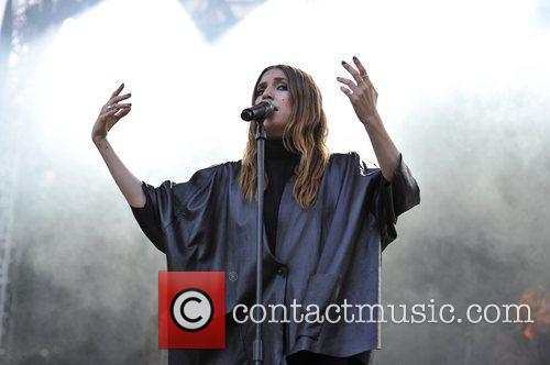 Lykke Li on Day Two at Lollapalooza...