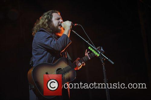 My Morning Jacket on Day Two at Lollapalooza...