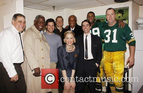 Dan Lauria, Aaron Thomas, Dawes and Judith Light 7