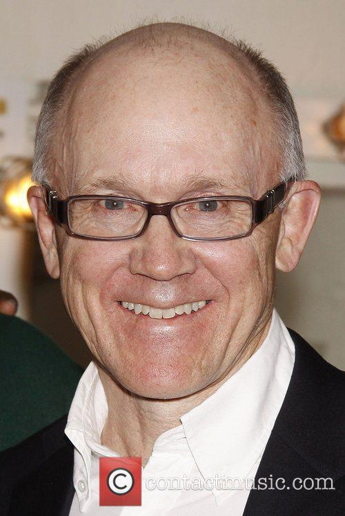 NY Jets owner Woody Johnson visits the cast...