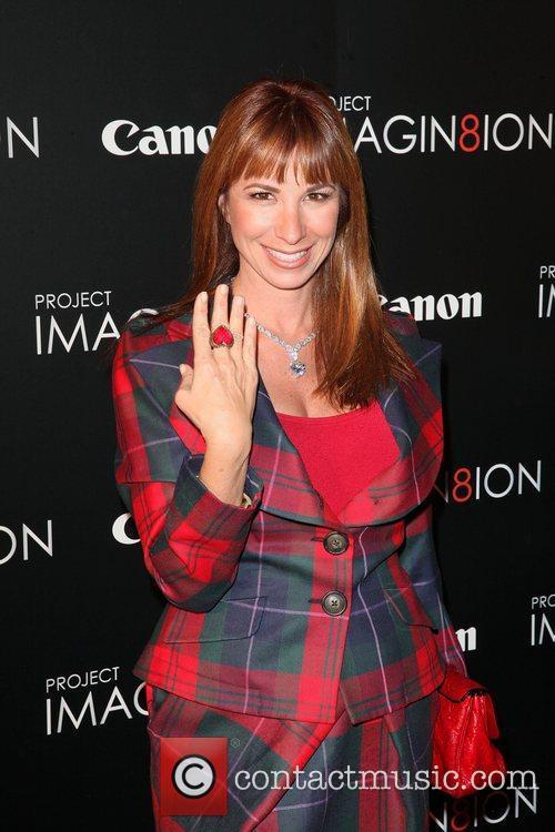Jill Zarin,  atthe 'Long Live Imagination' campaign...