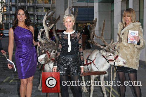 Christmas with the Loose Women DVD launch party...