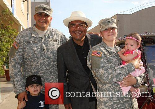 George Lopez and US Army Soldiers,  The...