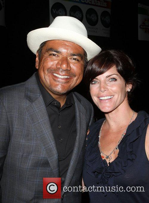 George Lopez and Lesli Kay,  The Lopez...