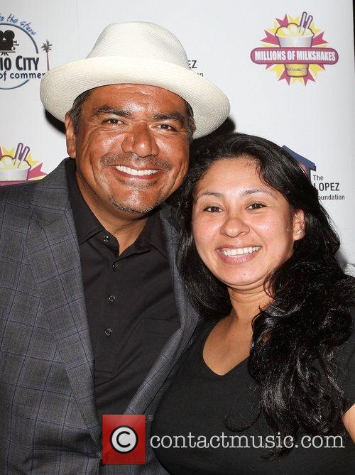 George Lopez and Glenda Melendez,  The Lopez...