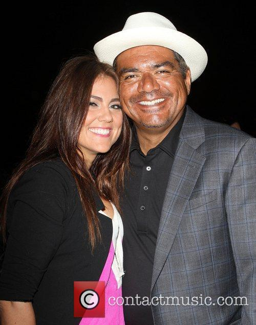 George Lopez, Raquel Castaneda,  The Lopez Foundation...