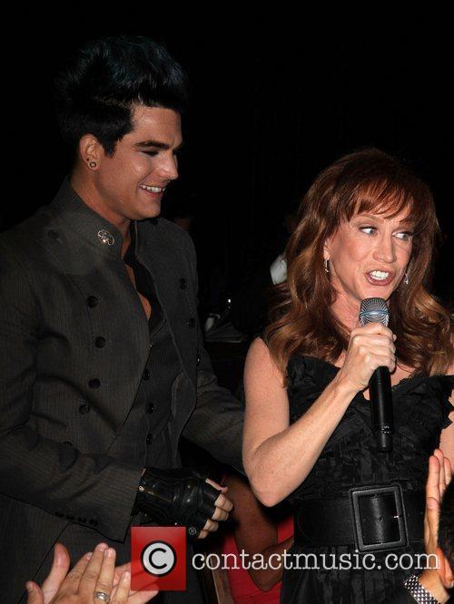 Adam Lambert and Kathy Griffin 3