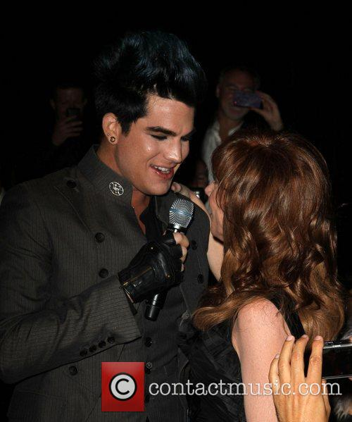 Adam Lambert and Kathy Griffin 5