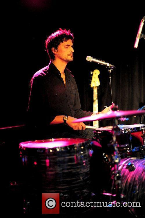 Alex Reeves (percussion) supports David McAlmont in concert...