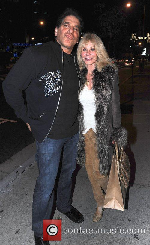 Lou Ferrigno and wife Carla Ferrigno out and...
