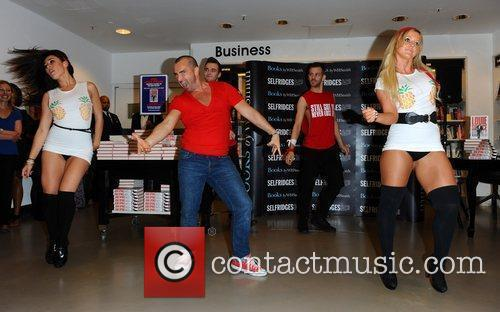 Louie Spence attends a book signing for 'Still...