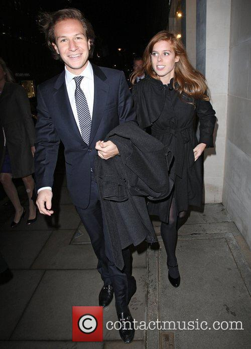 Dave Clark, Bond, Elton John, Louis Vuitton and Princess Beatrice 3