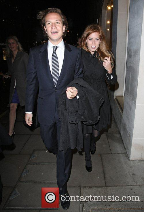 Dave Clark, Bond, Elton John, Louis Vuitton and Princess Beatrice 1