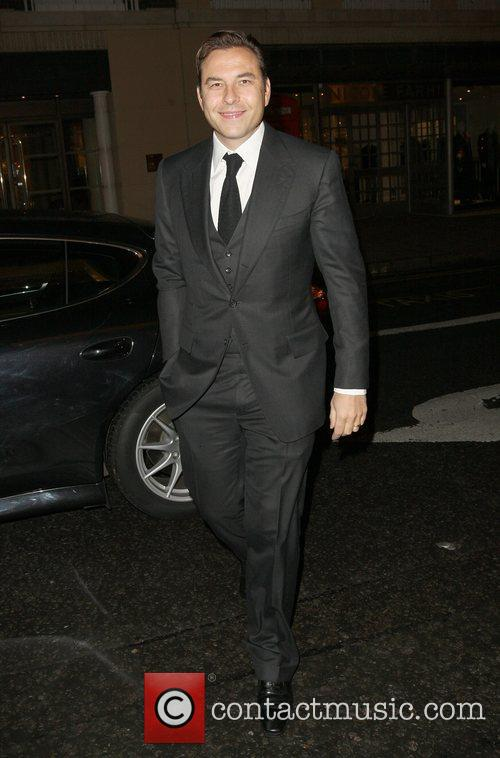 David Walliams,  at a private dinner for...