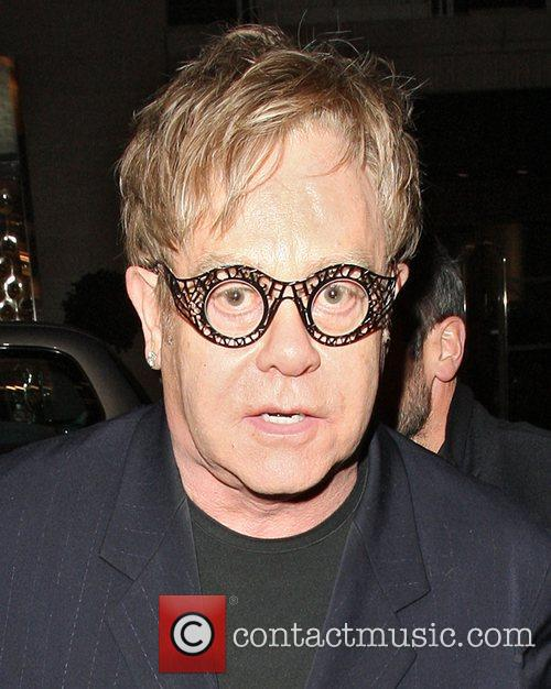 Elton John, Bond and Louis Vuitton 1