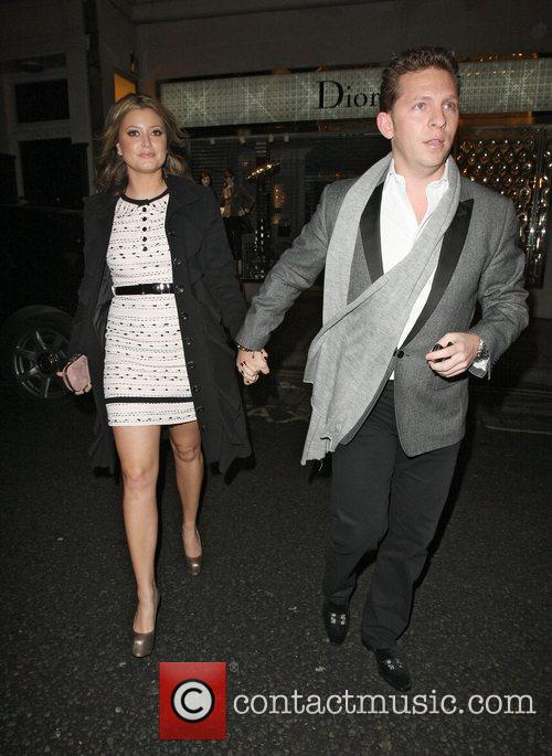 Holly Valance and Nick Candy,  at a...