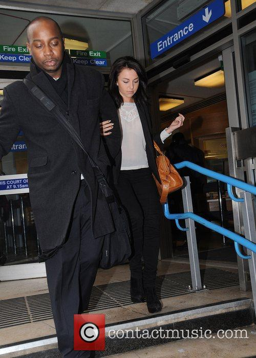 Louisa Lytton leaves the City of Westminster Magistrates...