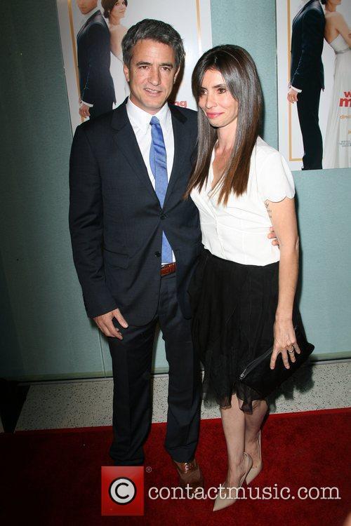 Director Dermot Mulroney and wife Los Angeles Premiere...