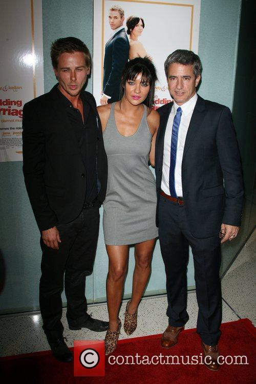 Richard Reid, Jessica Szohr and Director Dermot Mulroney...