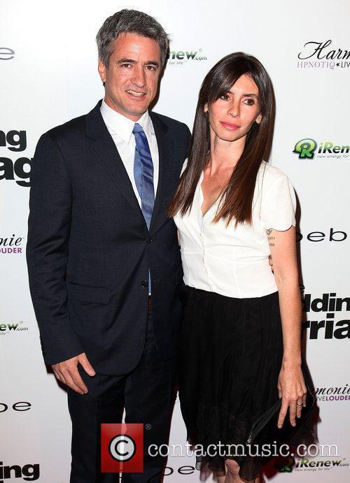Dermot Mulroney and Tharita Catulle Los Angeles Premiere...