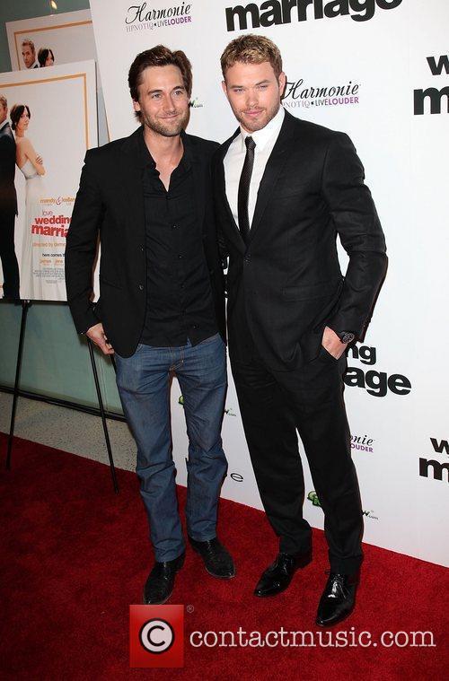 Guest and Kellan Lutz Los Angeles Premiere of...