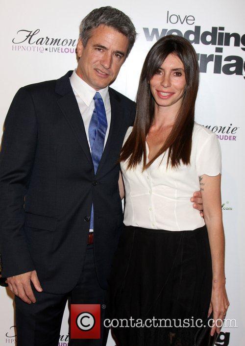 Dermot Mulroney & Wife Tharita Catulle  Los...